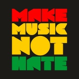 Polštářek MAKE MUSIC NOT HATE