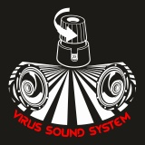 Mikina zip Virus Sound System 10