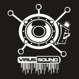 Mikina zip Virus Sound System 15